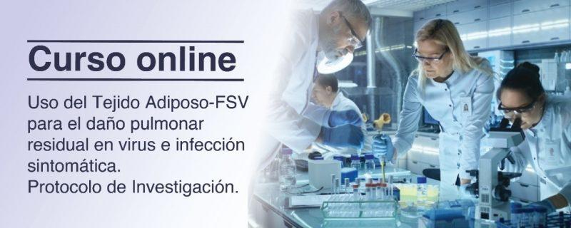 Uso de FVS por vía intravenosa para el daño pulmonar residual después de una infección sintomática por COVID-19